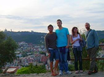 George, Sean, Orla, yo y el Tibidabo, Barcelona