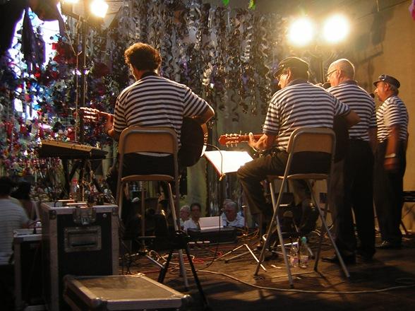 Fiesta mayor de Gracia, habaneras en Carrer Mozart