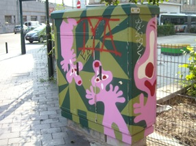 arte callejero, Bruselas