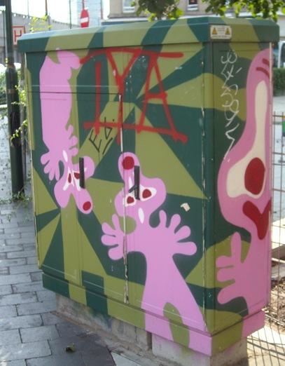 Bruselas, arte en la calle