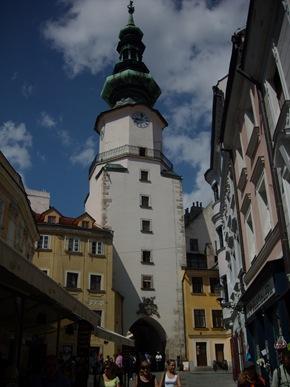 Puerta de San Miguel, Bratislava