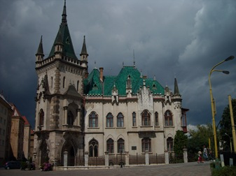 palacio de Jakab, Kosice