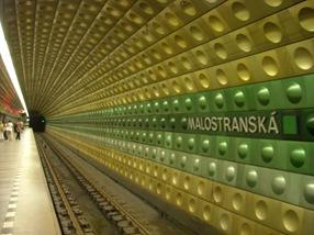 Estación de metro, Praga