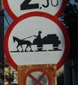 señal de tráfico rumana