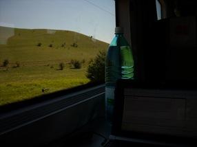 paisaje desde el tren Cluj Napoca-Brasov