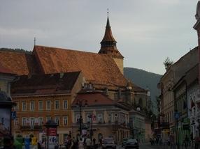 iglesia negra, Brasov