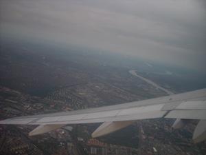 Budapest desde un Airbus A320-200 de Wizz Air