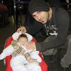 Il piccolo Emanuele Butera con i Negramano..JPG