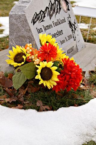 Ian's Headstone