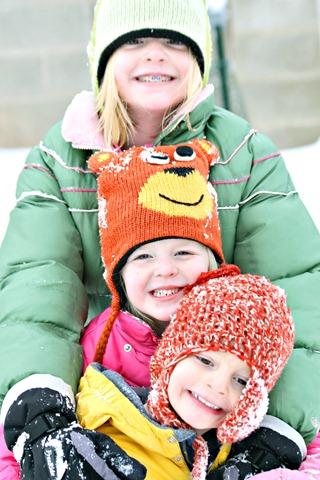 Kids in Snow 1