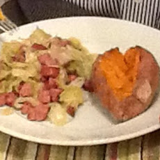 Sautéed Cabbage And Kielbasa