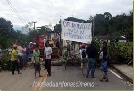 protesto saiva