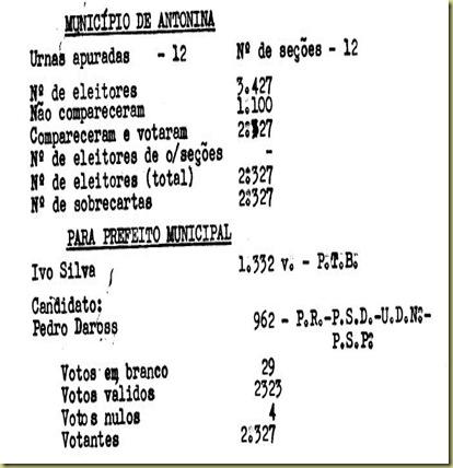 ELEIÇÃO 1951 - PARTE 1