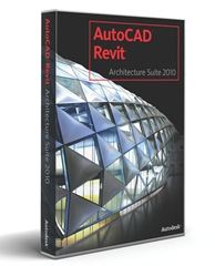 AutoCAD Revit Architecture Suite 2010 box
