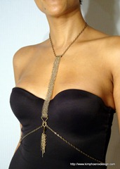 Gold Chain Mail Breast Plate II