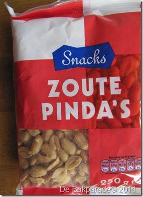 Hoe ontzout je gezouten pinda's