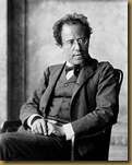 Gustav Mahler, photographed in 1907 at the end of his period as director of the Vienna Hofoper