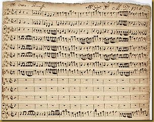 Christoph Graupner's cantata for the birthday of Landgraf Ernst Ludwig, December 1726.