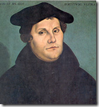 Martin Luther in 1533 by Lucas Cranach the Elder