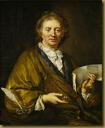 François Couperin, (1668-1733). Anonymous artist, Collection of the Château de Versailles.