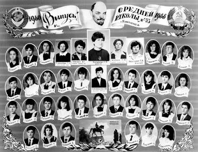 8Б класс, 1988 г.