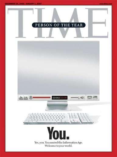 Time magazine cover: Web 2.0