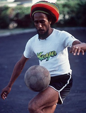 O Bob Marley στα social media