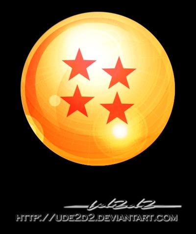 Bola de Dragón de las 4 estrellas
