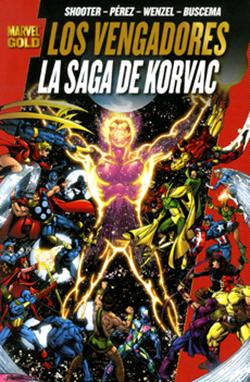 Los Vengadores: La Saga de Korvac (Marvel Gold). Cómpralo Online!