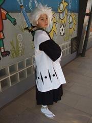 Cosplay de Toshiro Hitsugaya, por nuestra Costurera Ninja