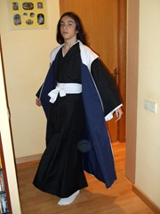Cosplay de Byakuya Kuchiki realizado por La Costurera Ninja