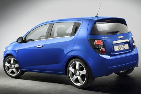 New Chevrolet Aveo Unveiled
