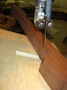 Rear Leg Bevel Cut