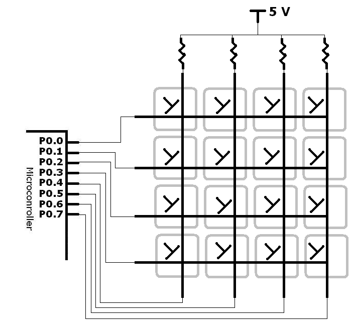 4x4  16 button matrix arduino water  end 8  17  2019 10 15 pm
