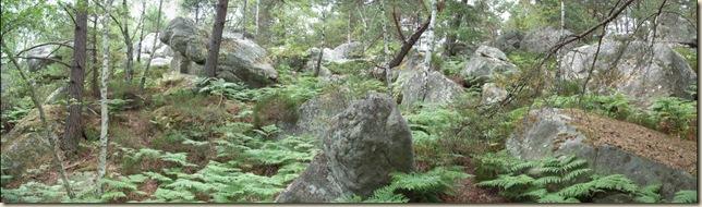 chaos rocheux dans le Cuvier Châtillon