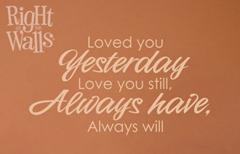 LovedYouYesterday