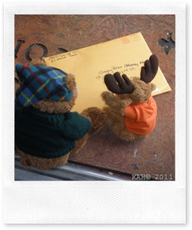 Sleepy Bear and Moosey-Moose Get Mail