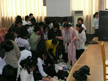 Students receive clothes