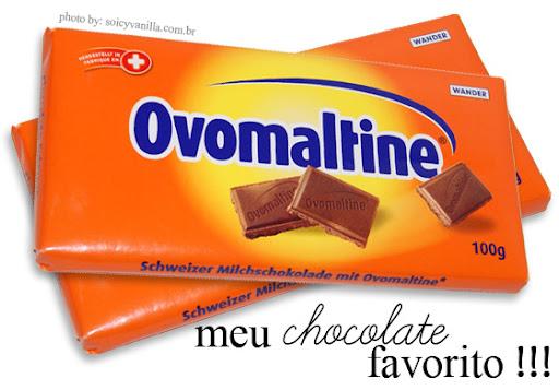 choco2 - Ovomaltine, meu chocolate favorito