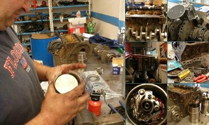 Ver Reparacion de las partes del motor