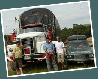Ver camioneros colombianos