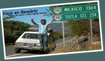 Ver de argentina a mexico en renault 6