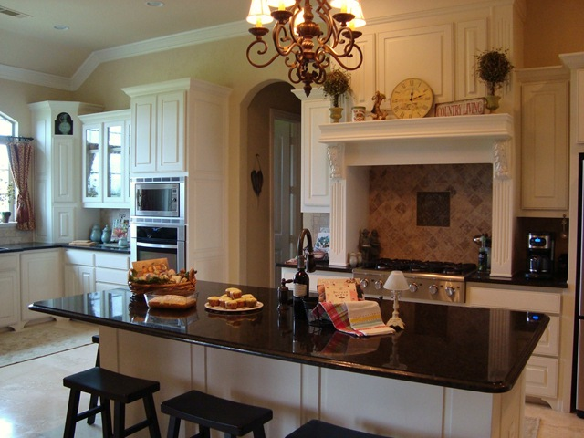 Kitchen Island Design With Stove Top