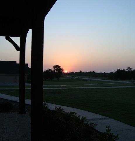 June 12, 2009 sunrise sunset 001