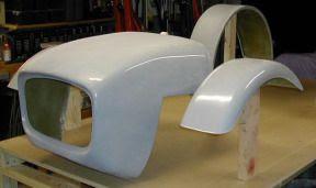 Fiberglass Parts