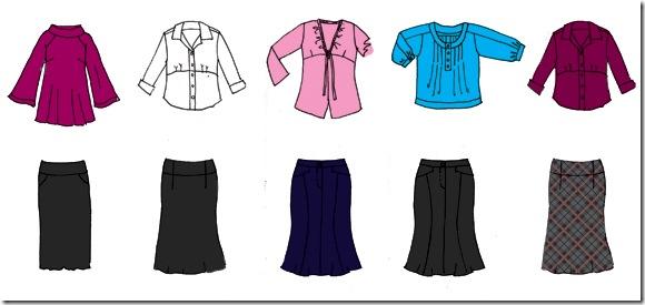 mini-wardrobe