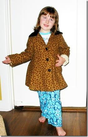 front-coat-wearing