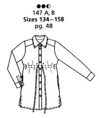 Burda Style 10-2010 #147B