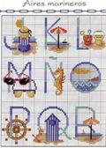 abecedarios punto de cruz. (6)