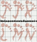 abecedarios punto de cruz. (208)